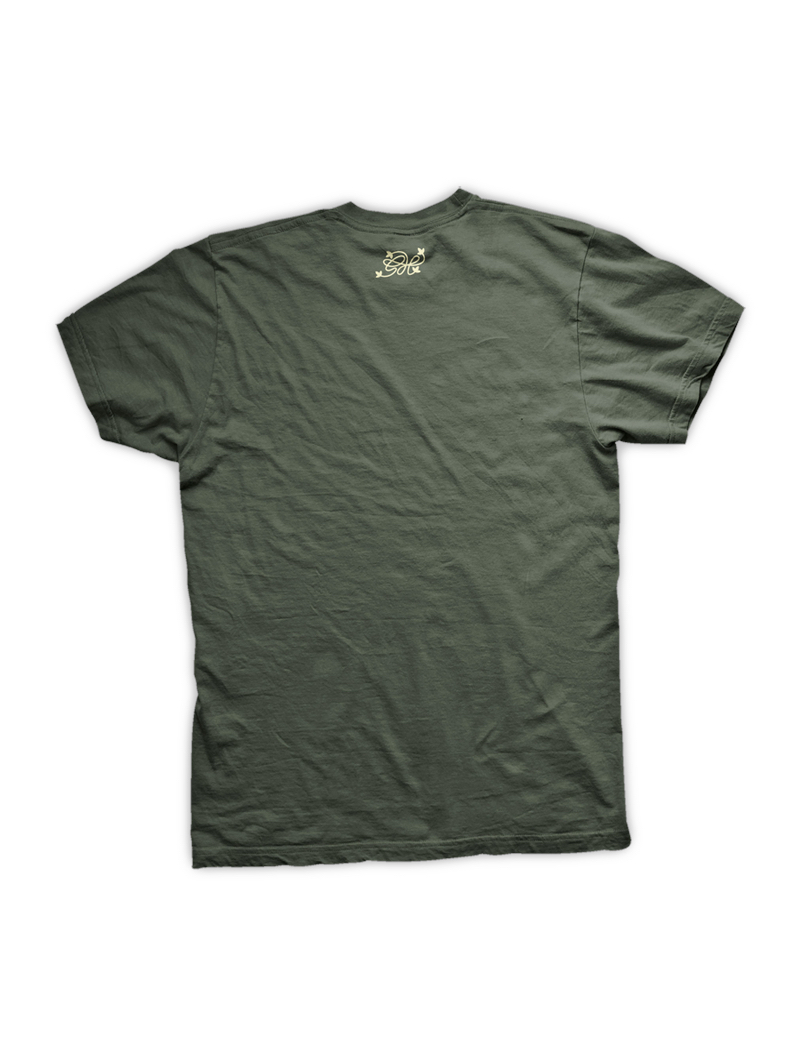 GH Logo - Army green