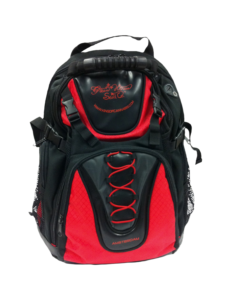 Backpack | Red & Black