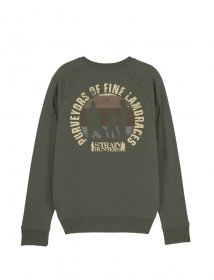 Strainhunters Crew Sweater Army