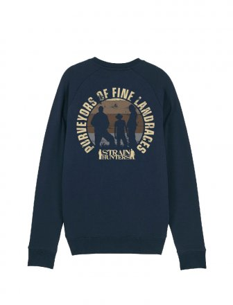 Strainhunters Crew Sweater Navy