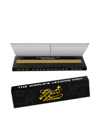 King Size Slim Single Pack | Green House Rolling Papers
